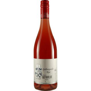 2018 Buntschiefer Spätburgunder Rosé mild - Weingut Burgkeller