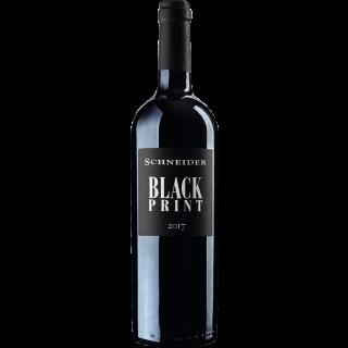 2017 Black Print Rotwein Trocken - Weingut Markus Schneider