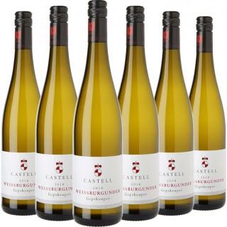 Gipskeuper Weißburgunder VDP.Gutswein trocken Paket - Weingut Castell