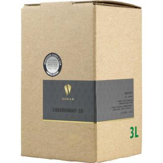 2020 Chardonnay -SX- Bag-in-Box (BiB) trocken 3,0 L - Schild & Sohn