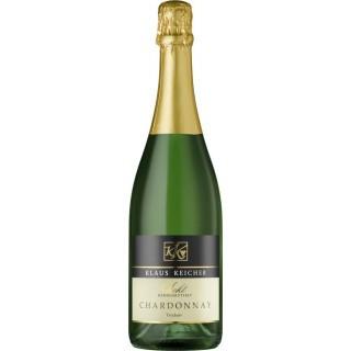 "2018 Chardonnay Sekt ""handgerüttelt"" trocken - Privatkellerei Klaus Keicher"