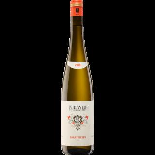 2018 Saarfeilser Riesling GG trocken - Weingut Nik Weis - St. Urbans-Hof