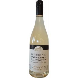 2017 Spätburgunder Blanc de Noir halbtrocken - Weingut Försterhof