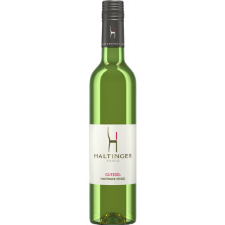 2016 Gutedel QbA Trocken 0,5L - Weingut Haltinger