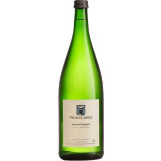 2018 Hausschoppen halbtrocken 1L - Weingut Thomas Mend
