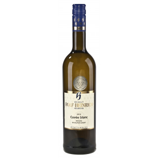 2016 Cuvée blanc Qualitätswein -RESERVE- im Holzfass gereift trocken - Weingut Rolf Heinrich