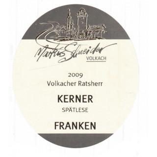 2009 Kerner Spätlese Trocken - Weingut Markus Schneider