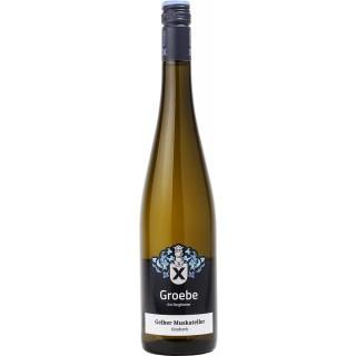 2020 Gelber Muskateller feinherb Bio - Weingut Groebe am Bergkloster