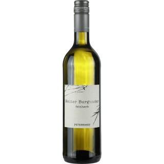 2018 Weißer Burgunder feinherb - Weingut Petershof