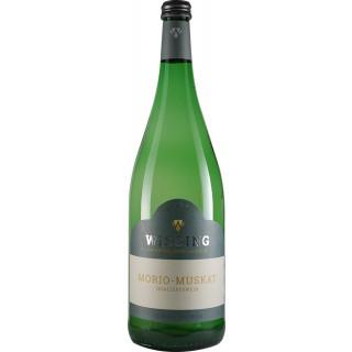 2019 Morio Muskat lieblich 1L - Weinkellerei Emil Wissing