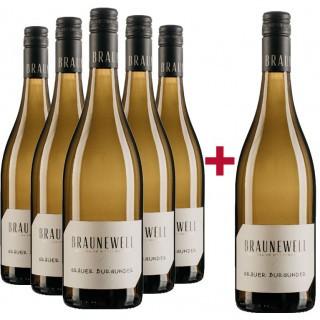 """5+1 Paket """"Grauer Burgunder trocken"""" - Weingut Braunewell"""