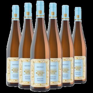 2017 Rheingau Riesling VDP.Gutswein 5+1 Paket - Weingut Robert Weil