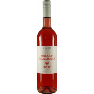 2018 Muskattrollinger Rosé Bio - Weingut Zimmerle