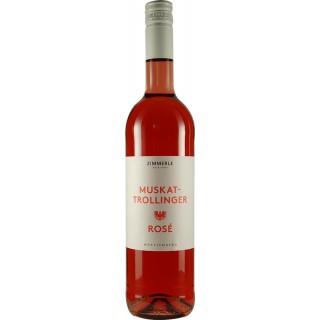 2019 Muskattrollinger Rosé Bio - Weingut Zimmerle