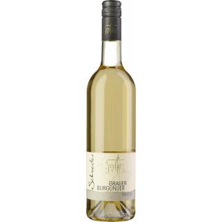 2019 Grauer Burgunder trocken - Wein- und Sektgut Heinz Schneider