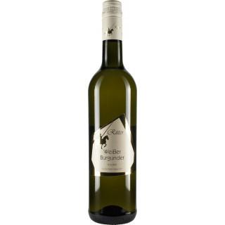 2018 Weißer Burgunder QbA Trocken - Weingut Ritter