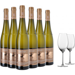 Großes Gewächs Weißwein Paket inkl. hochwertige Enoteca Gläser