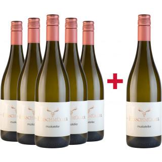5+1 Muskateller Sommerpaket - Wein- und Sektgut Hirschmüller