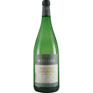 2019 Pfälzer Landwein WEIß 1L - Weinkellerei Emil Wissing