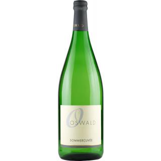 2018 Sommercuvée lieblich (1000ml) - Weingut Oswald