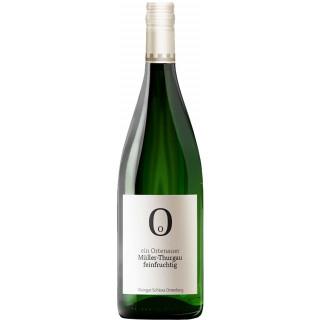 2019 Müller-Thurgau Qualitätswein halbtrocken 1,0 L - Weingut Schloss Ortenberg