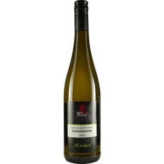 2018 Hertmannsweiler Himmelreich Gewürztraminer CHARME halbtrocken - Weingut Häußer