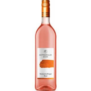 2018 Basic Muskattrollinger Rosé lieblich - Bottwartaler Winzer