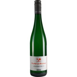 """2018 Johanniter """"S"""" trocken BIO - Weinhof am Nussbaum"""