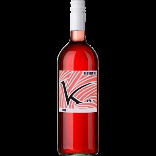 2019 Rosé halbtrocken 1L BIO - Weingut Lukas Kesselring