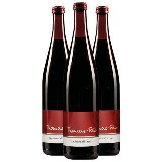 3x 2020 Traubensaft rot - Weingut Thomas-Rüb