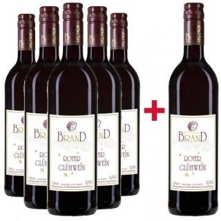 5+1 Paket Winzerglühwein rot - Weingut Brand
