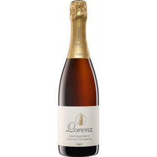 2018 Pinot Rosé brut - Weingut Lorenz