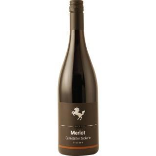 2018 Cannstatter Zuckerle Merlot Barrique trocken - Weingut der Stadt Stuttgart
