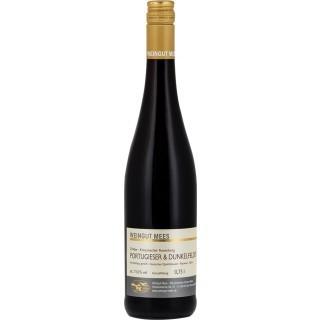 2016 Portugieser und Dunkelfelder Rotwein QbA feinherb Nahe Kreuznacher Rosenberg - Weingut Mees