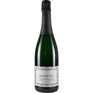 2017 Pinot Noir Rosé brut - Traditionelle Flaschengärung - Weingut Brandt