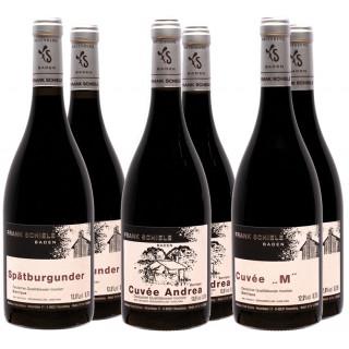 Rotwein-Paket // Weinbau Frank Schiele