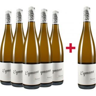 5+1 Gönnheimer Riesling trocken Paket - Weingut Eymann