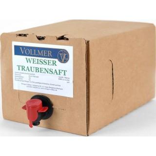 Weißer Traubensaft 3L Bag-in-Box Weinschlauch 3,0 L - Weingut Roland Vollmer