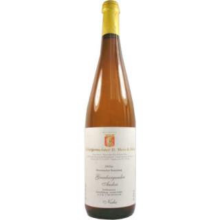 2007 Grauburgunder Auslese Weißwein edelsüß süß Nahe Kreuznacher Rosenberg - Weingut Mees