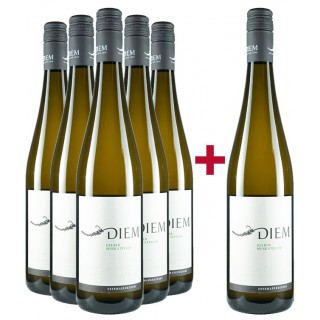 5+1 Paket Gelber Muskateller - Weingut Diem Gerald und Andrea