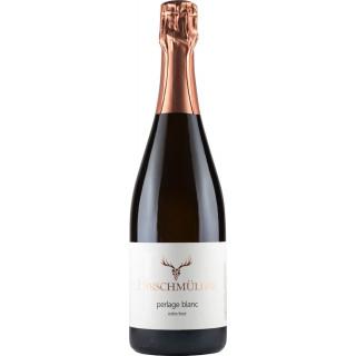 Perlage Blanc traditionelle Flaschengärung extra brut - Wein- und Sektgut Hirschmüller
