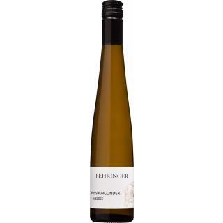 2015 EDELSÜSS Weißburgunder Auslese 0,375L - Behringer