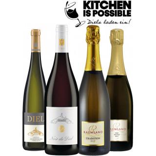 Kitchen is possible Genussbox mit Koch- und Verkostungsvideo - Schlossgut Diel