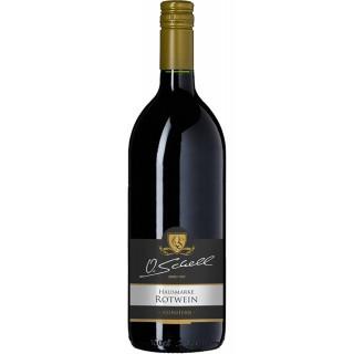 Rotwein Hausmarke feinherb 1,0 L - Weingut O.Schell