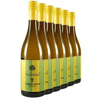 """5+1 Aktion """"Cabernet Blanc-Paket"""" trocken BIO - Weingut Wedekind"""