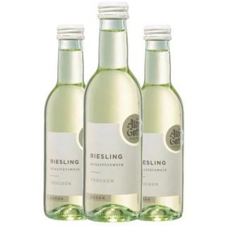 3x 2019 Riesling Qualitätswein trocken 0,25 L - Alde Gott Winzer Schwarzwald