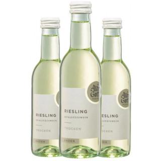 3x 2020 Riesling Qualitätswein trocken 0,25 L - Alde Gott Winzer Schwarzwald