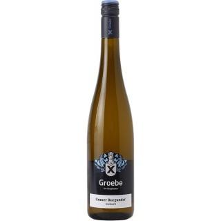 2018 Grauer Burgunder feinherb BIO - Weingut Groebe am Bergkloster