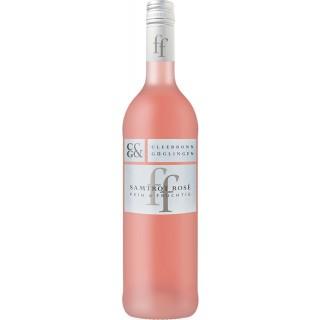 2018 Samtrot Rosé fein & fruchtig lieblich - Weingärtner Cleebronn-Güglingen