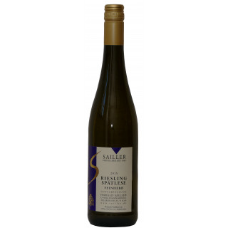 2015 Riesling Spätlese Feinherb - Weingut Destillerie Harald Sailler